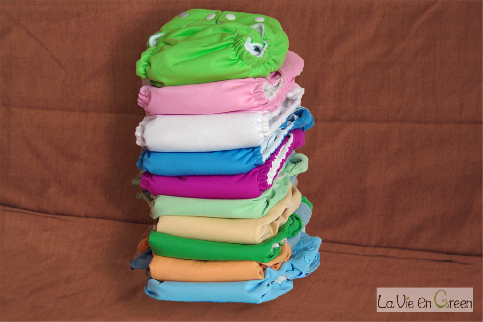 Cloth Diaper Pile (all-in-one, all-in-two, with inserts)