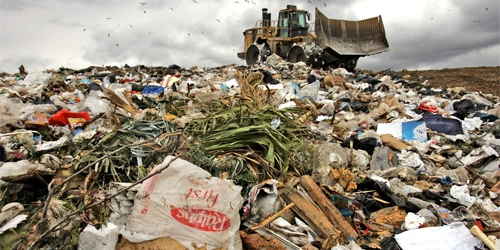 Plastic bags landfills pollution now ban in LA