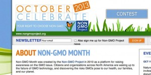 Non GMO Project Verified seal FDA USDA organic food Non GMO Month