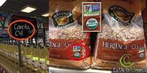Non GMO Project Verified seal FDA USDA organic food