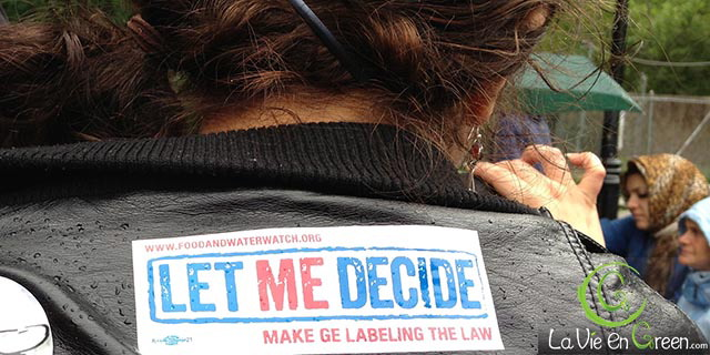 Right to choose non GE foods and requesting GMO labeling