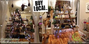 Shop local Support your community and buy unique, quality gifts for Christmas and year end celebrations!