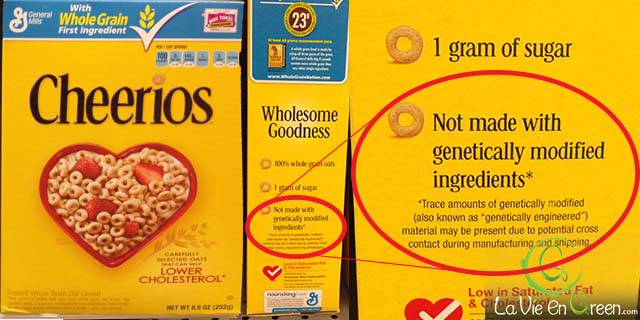 The absence of official non GMO seal and the fine prints together pretty much defeat this announcement, from a health perspective, at least.