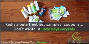 Earth Day Redistribute! Don't waste!