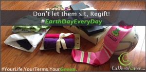 Earth Day Regift Don't waste!