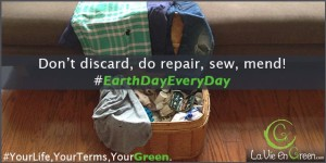 Earth Day Repair Don't Waste