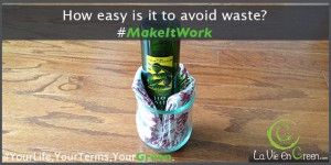 How to avoid waste from glass bottle content - La Vie En Green
