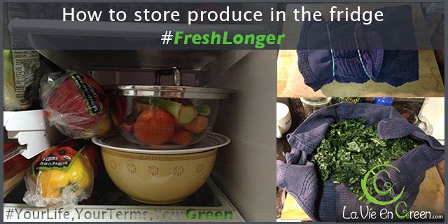 Tips to keep Produce Fresh Longer in your fridge