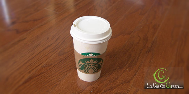 Starbucks launched reusable #5 plastic $1 coffee tea cups to reduce waste from paper cups