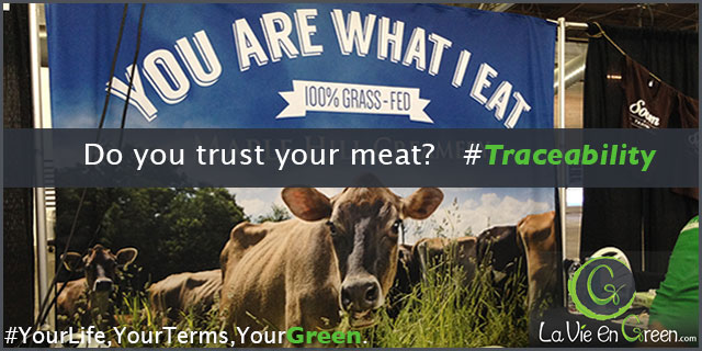 Meat traceability trust your farmers NYC Green Festival 2014